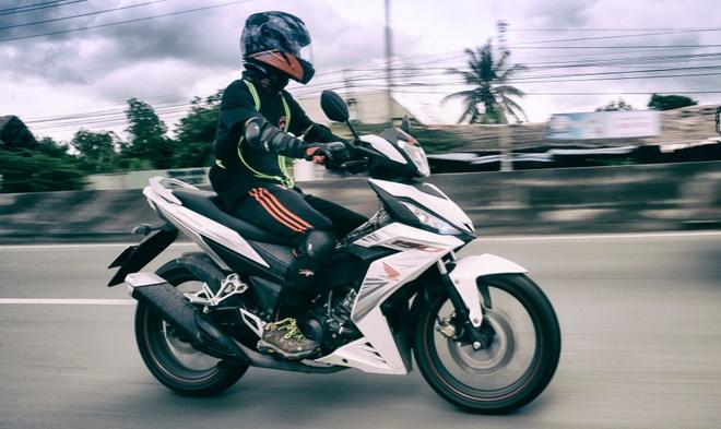 Chay Honda Winner 150 hon 700 km den mui Ca Mau hinh anh