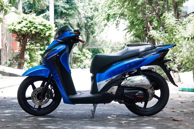 Honda SH 2010 do dan ao o Sai Gon anh 1