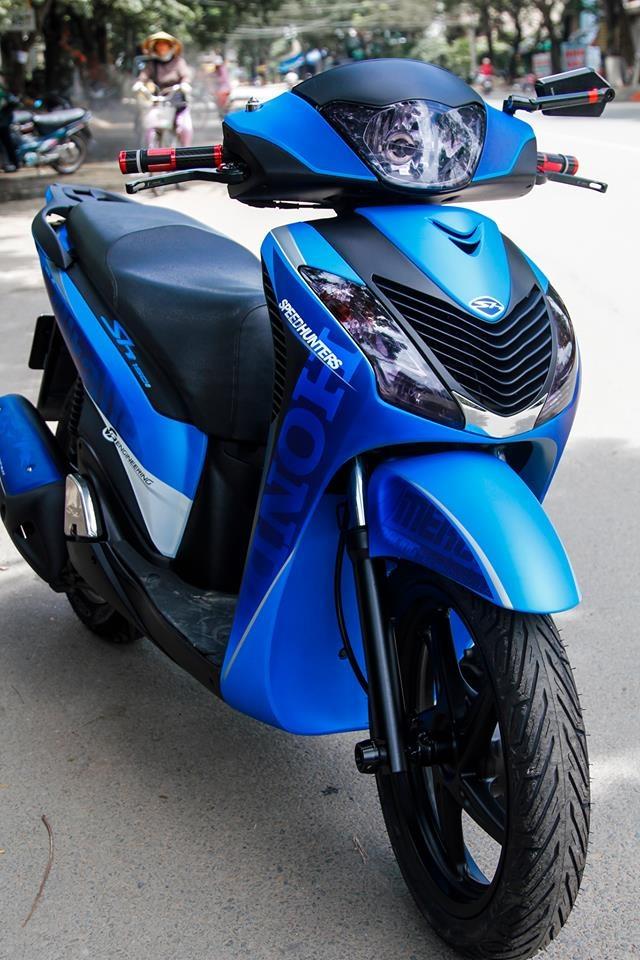Honda SH 2010 do dan ao o Sai Gon anh 2