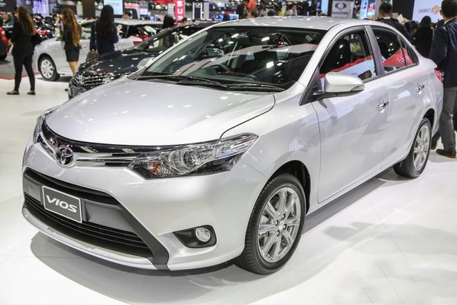 Toyota Vios 2016 co gia tu hon 18.000 USD o Malaysia hinh anh 1