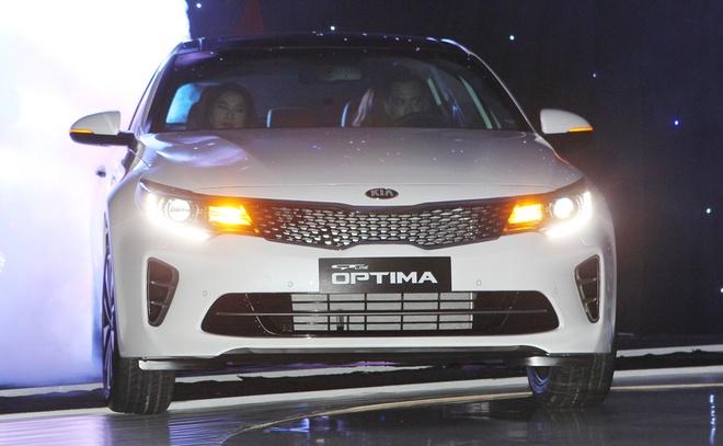 Anh Kia Optima: Doi thu gia re cua Toyota Camry o VN hinh anh