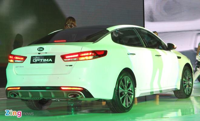 Anh Kia Optima: Doi thu gia re cua Toyota Camry o VN hinh anh 11