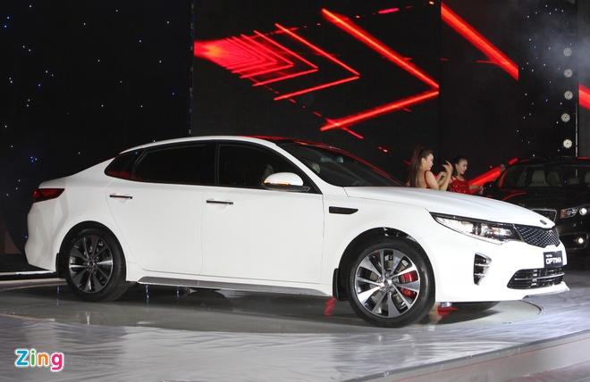 Anh Kia Optima: Doi thu gia re cua Toyota Camry o VN hinh anh 1