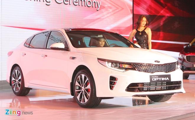 Anh Kia Optima: Doi thu gia re cua Toyota Camry o VN hinh anh 2