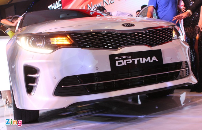 Anh Kia Optima: Doi thu gia re cua Toyota Camry o VN hinh anh 3