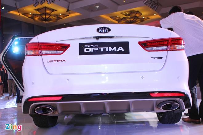 Anh Kia Optima: Doi thu gia re cua Toyota Camry o VN hinh anh 6