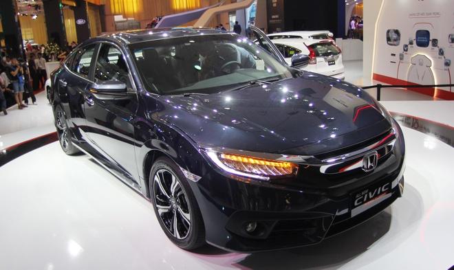 5 mau xe hut khach nhat Vietnam Motor Show 2016 hinh anh