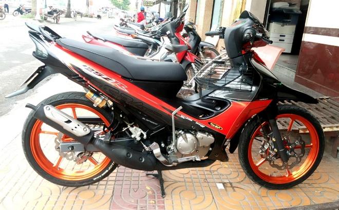 Biker Soc Trang tau Yamaha 125ZR hang thua gia 300 trieu hinh anh