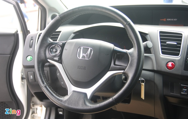 So sanh Honda Civic the he moi va cu o Viet Nam hinh anh 14