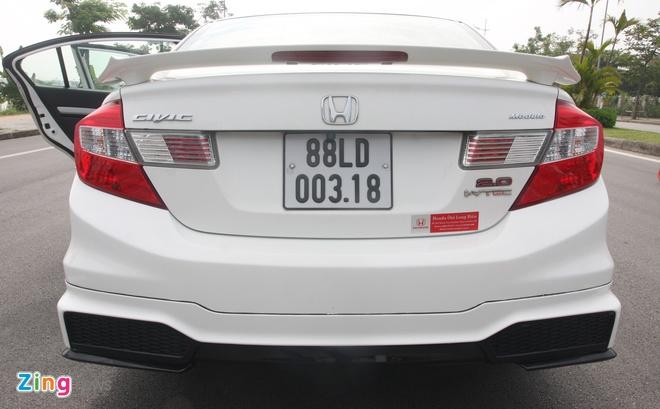 So sanh Honda Civic the he moi va cu o Viet Nam hinh anh 8