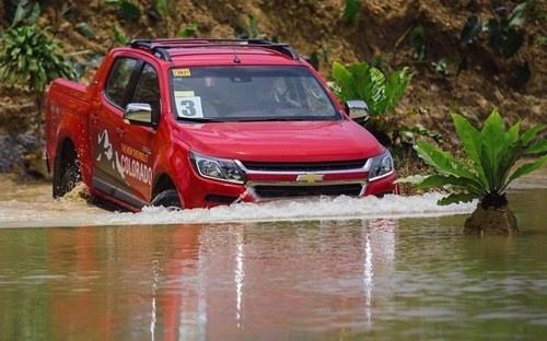 GM Viet Nam trieu hoi hon 130 chiec Chevrolet Colorado hinh anh