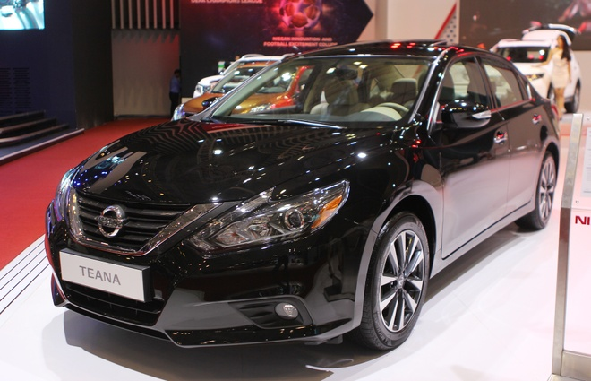 Nissan Teana 2016 ve Viet Nam voi gia 1,49 ty dong hinh anh