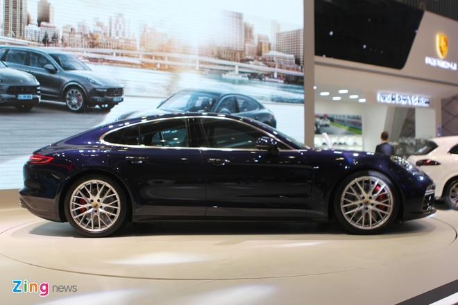 Anh thuc te Porsche Panamera Turbo 2017 vua ra mat o VN hinh anh 1