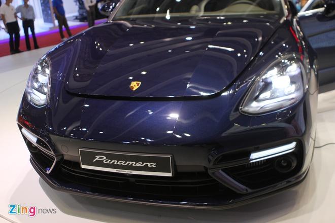 Anh thuc te Porsche Panamera Turbo 2017 vua ra mat o VN hinh anh 3