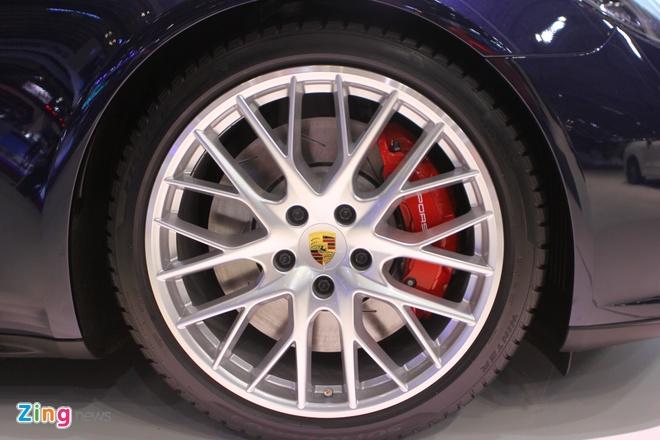Anh thuc te Porsche Panamera Turbo 2017 vua ra mat o VN hinh anh 4