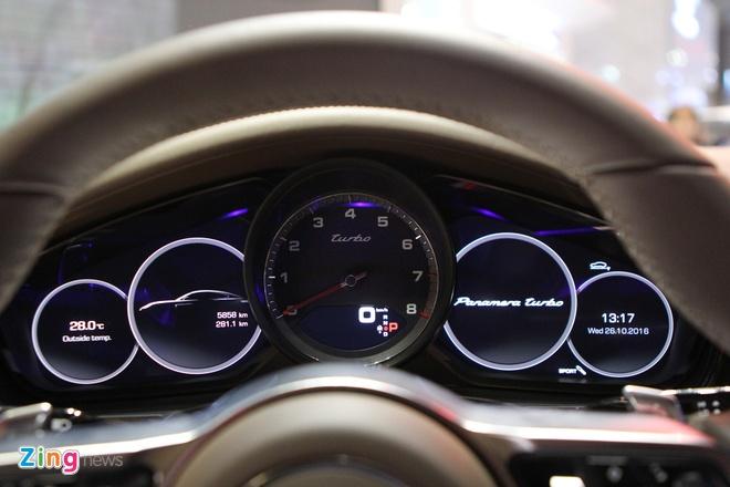 Anh thuc te Porsche Panamera Turbo 2017 vua ra mat o VN hinh anh 9