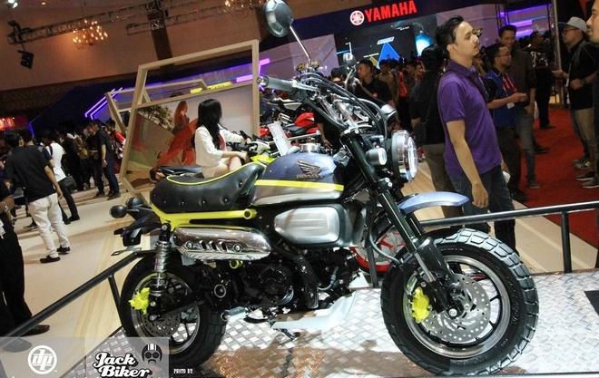 Concept Honda Monkey con tay 125 phan khoi hinh anh 1
