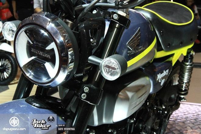 Concept Honda Monkey con tay 125 phan khoi hinh anh 2
