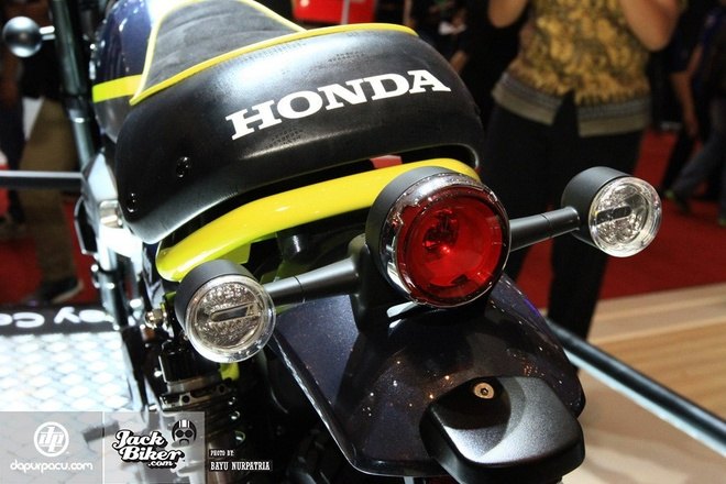 Concept Honda Monkey con tay 125 phan khoi hinh anh 5