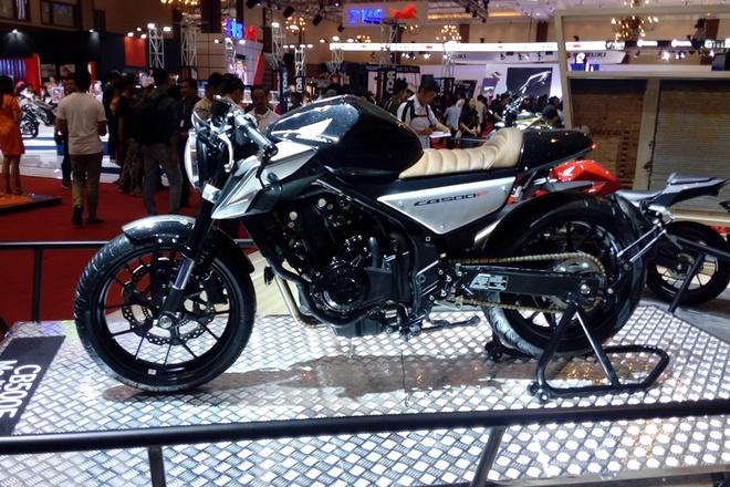 Honda CB500F do cafe racer o Indonesia hinh anh 1