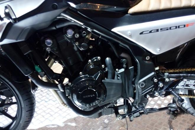 Honda CB500F do cafe racer o Indonesia hinh anh 7