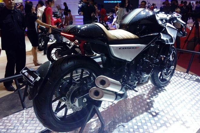 Honda CB500F do cafe racer o Indonesia hinh anh 2