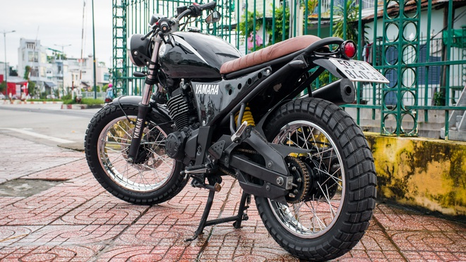 Yamaha FZ150 do phong cach co dien o Viet Nam anh 6