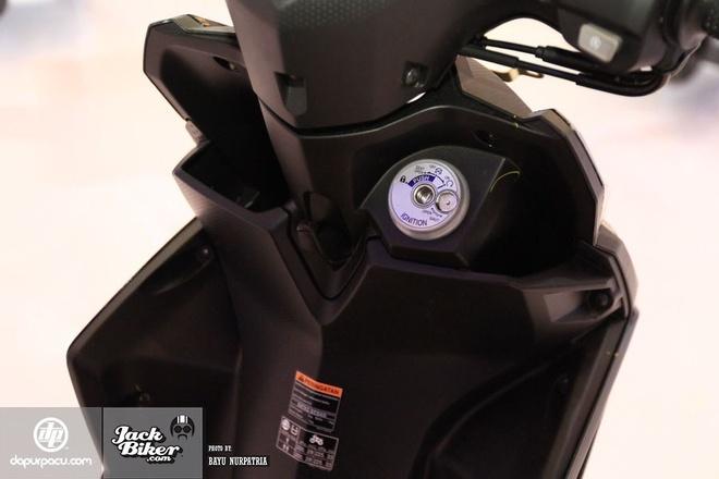 Yamaha Mio M3 moi voi he thong khoa da chuc nang hinh anh 4