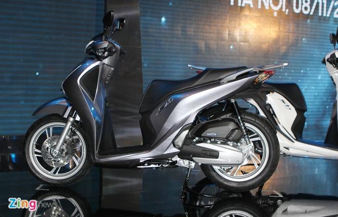 Honda SH 2017 ra mat gia 68 trieu, ban ABS 76 trieu dong hinh anh 2