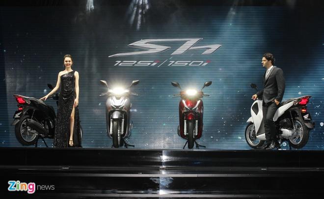 Honda SH 2017 ra mat gia 68 trieu, ban ABS 76 trieu dong hinh anh 1