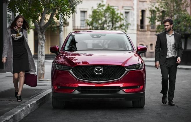 Anh chi tiet Mazda CX-5 2017 vua ra mat o My hinh anh
