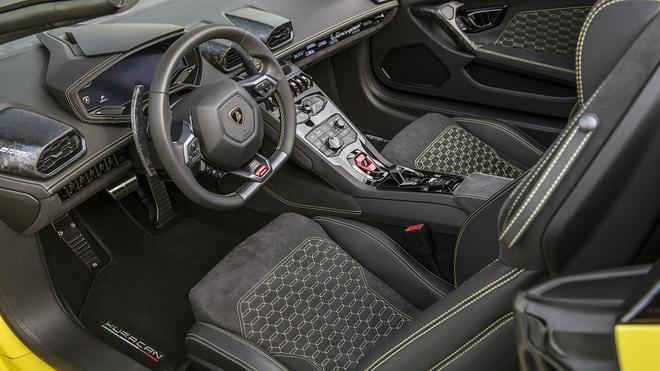 Lamborghini Huracan LP580-2 Spyder ra mat anh 5