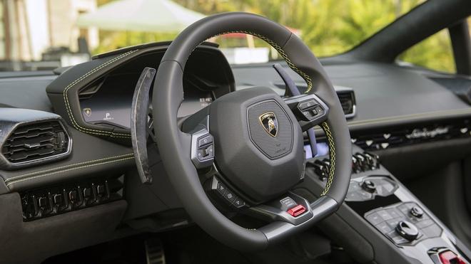 Lamborghini Huracan LP580-2 Spyder ra mat anh 6