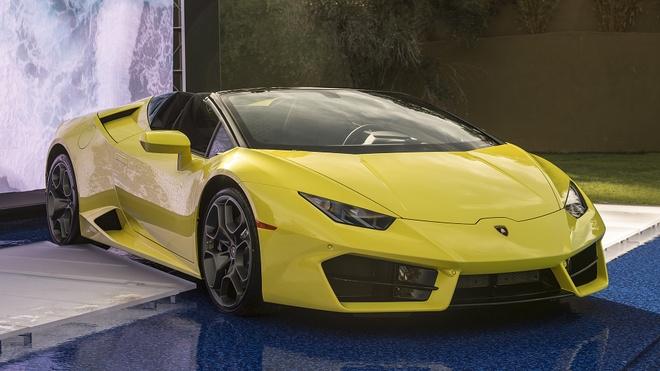 Lamborghini Huracan cau sau mui tran ra mat o My hinh anh 1