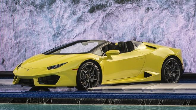 Lamborghini Huracan LP580-2 Spyder ra mat anh 7