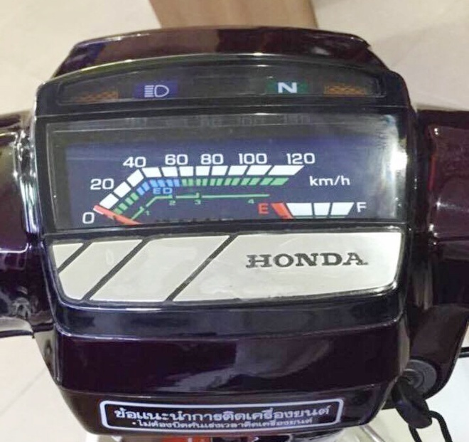 Anh Honda Dream II hang hiem 140 trieu chua ban o Sai Gon hinh anh 5