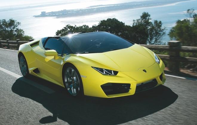 Lamborghini Huracan cau sau mui tran ve Viet Nam anh 1