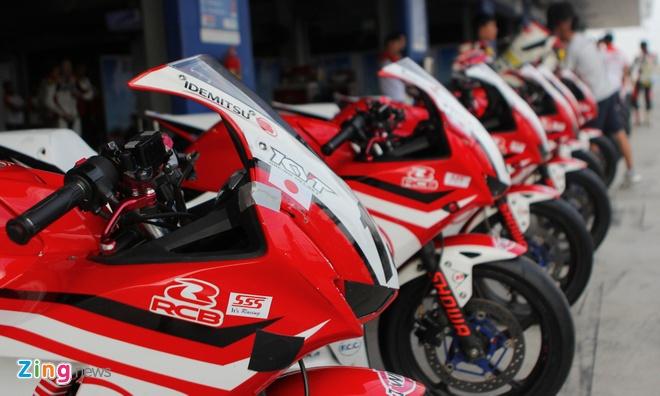 Can canh dan xe dua 250 phan khoi cua Honda o Thai Lan hinh anh 2