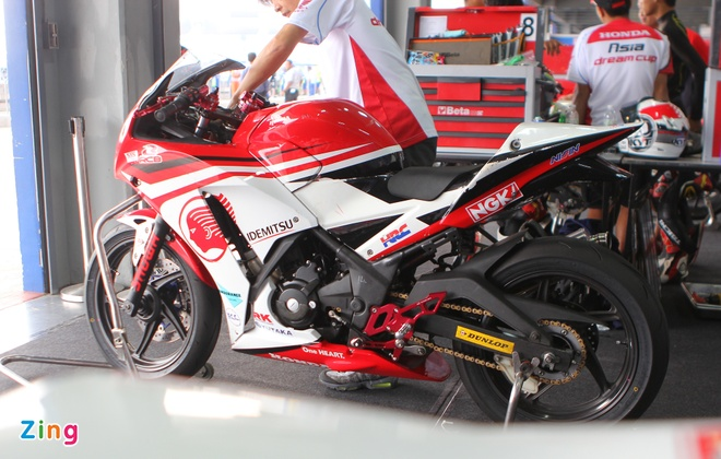 Can canh dan xe dua 250 phan khoi cua Honda o Thai Lan hinh anh 4