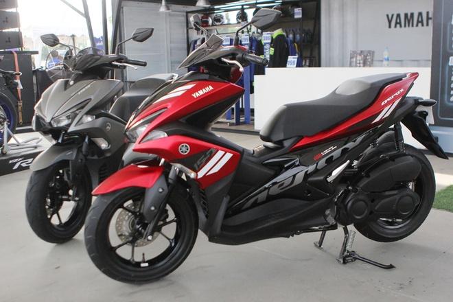 Yamaha NVX o Indonesia re hon Viet Nam gan 9 trieu dong hinh anh
