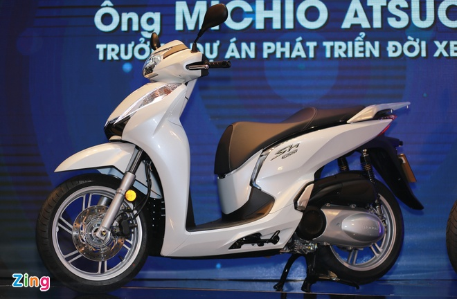 Honda SH 300i ABS 2016 ra mat tai VN, gia 248 trieu dong hinh anh 1