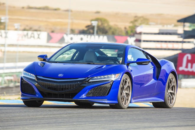 Acura NSX ra mat o Trung Quoc anh 1