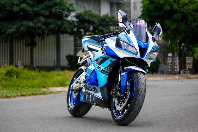 Honda CBR600RR son dan vo bat mat cua biker Sai Gon hinh anh 5