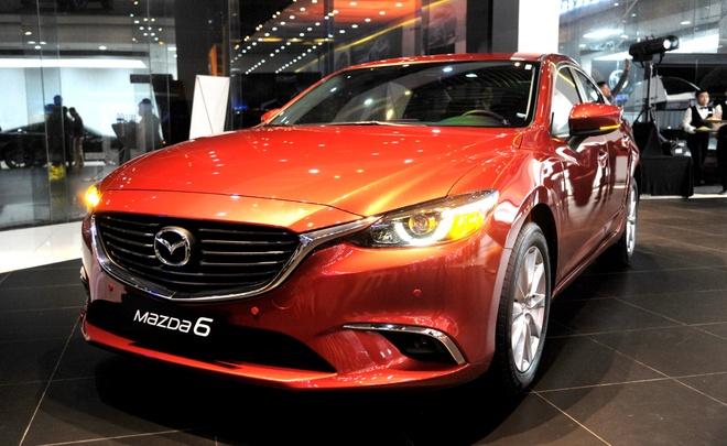 Mazda 6 2017 ra mat o Viet Nam voi gia tu 975 trieu dong hinh anh