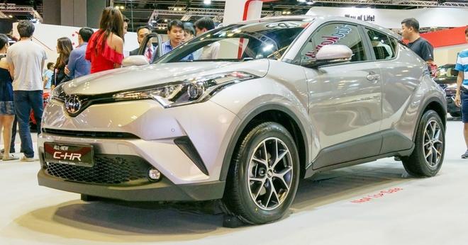 Toyota C-HR ra mat nguoi dung Dong Nam A hinh anh 1