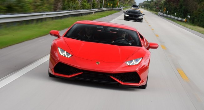 Sieu xe duong pho nhanh nhat cua Lamborghini sap ra mat hinh anh 1