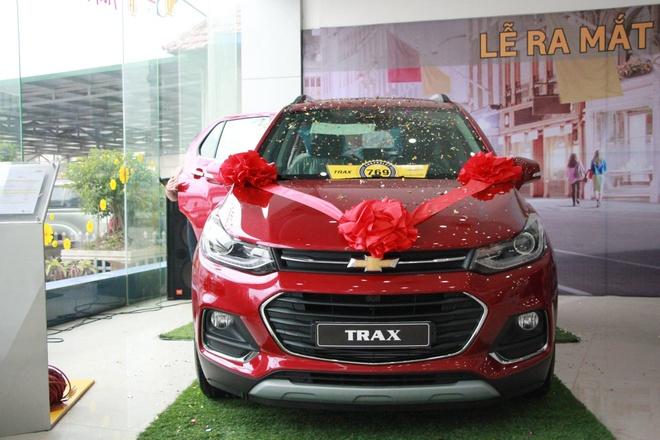 Chevrolet Trax 2017 gia 769 trieu bat dau ban o Viet Nam hinh anh