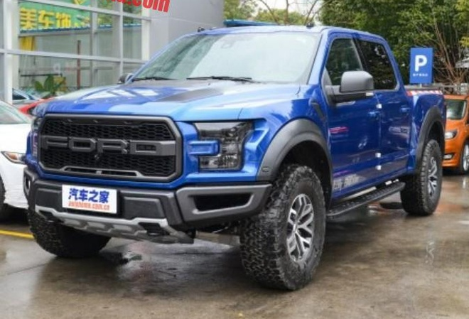 Ford F-150 Raptor dau tien den thi truong Trung Quoc hinh anh 1