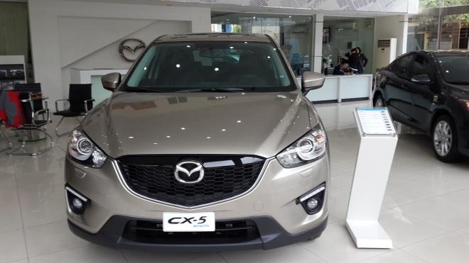 Gia Mazda CX-5 thap nhat tu truoc den nay tai Viet Nam hinh anh