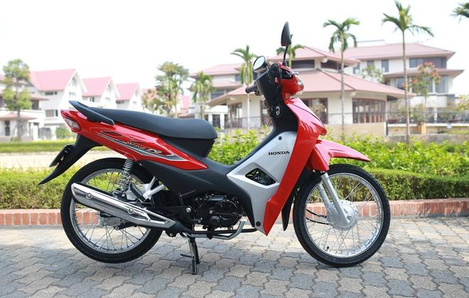 Danh gia Honda Wave Alpha 110 - 'vua' xe so gia re hinh anh